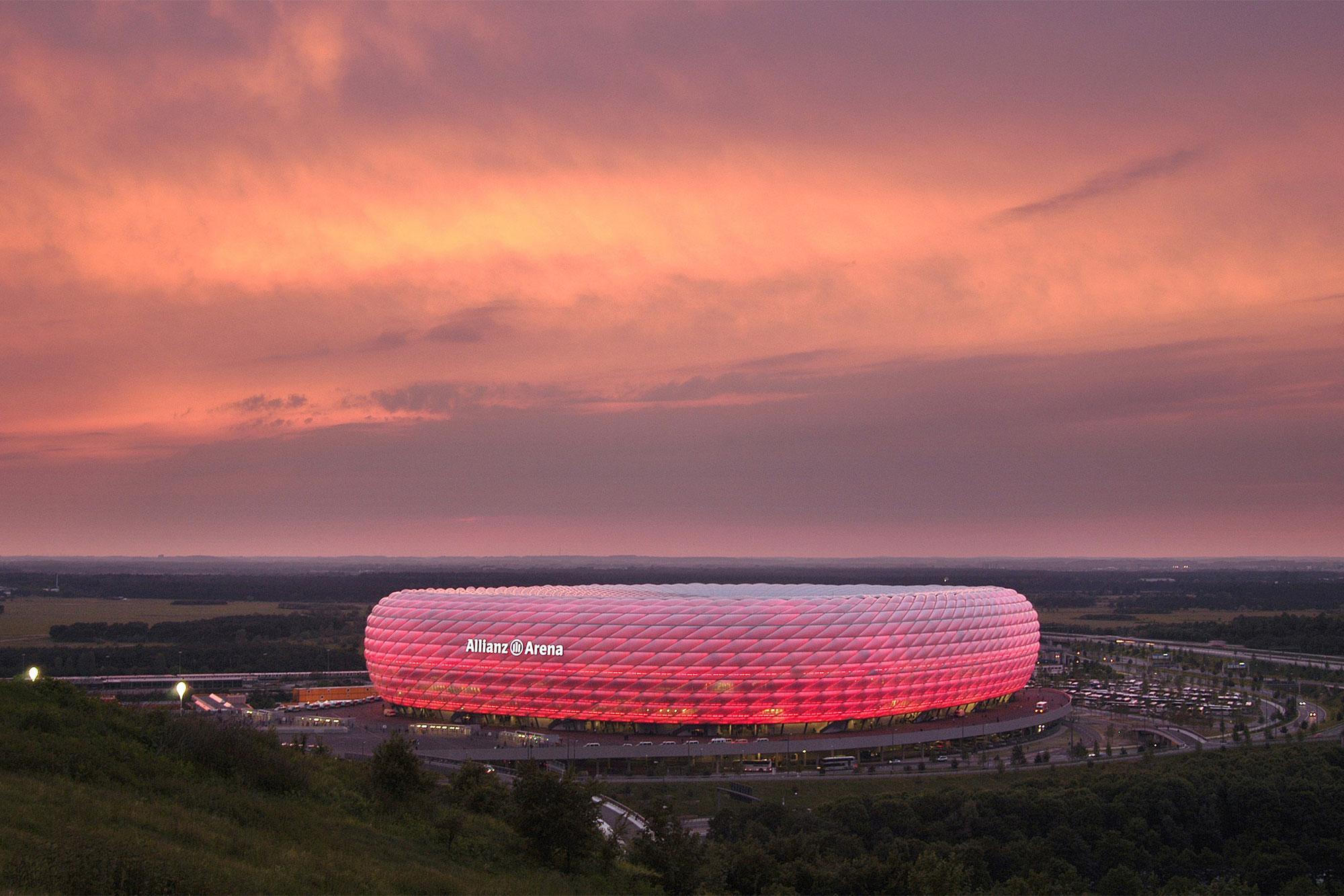 München Allianz Arena © Hans Schmied