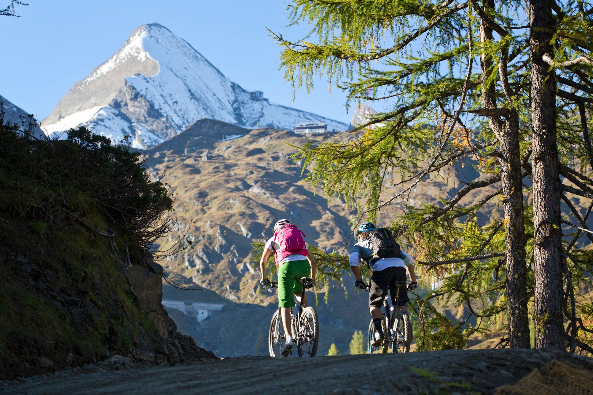 Radfahren in Kaprun